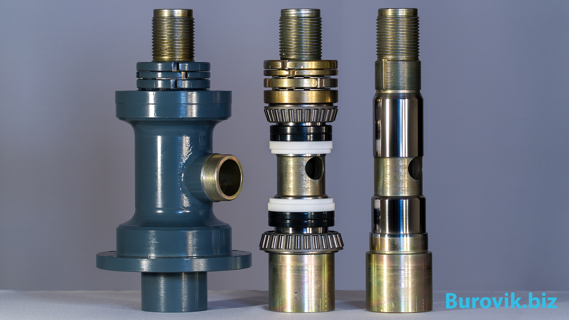 Swivel for drilling rig shaft seals